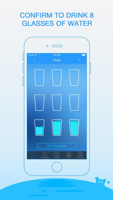 water drinking app