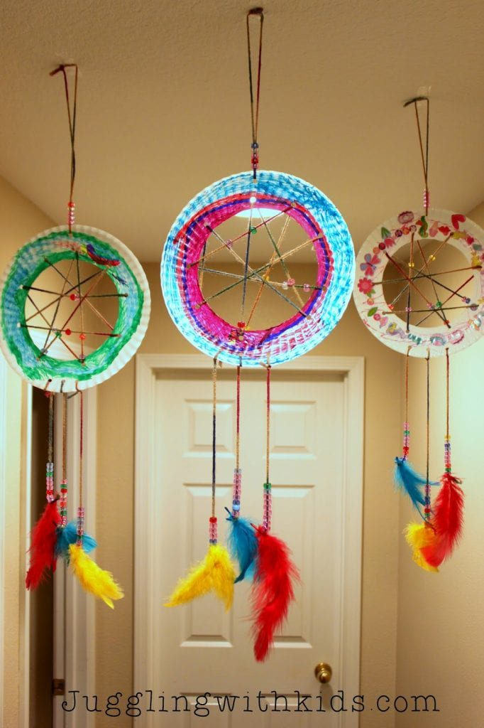 Dream Catcher - arts and crafts for kids