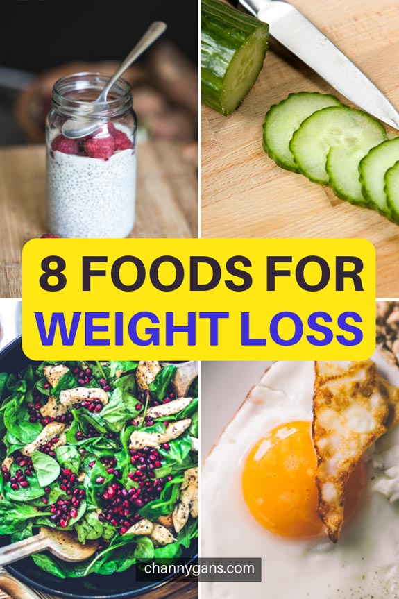 8 Foods for Weight Loss. We all know the trick to weight loss is calories in, calories out. But there are also some foods for weight loss that'll help you in reaching your goals.