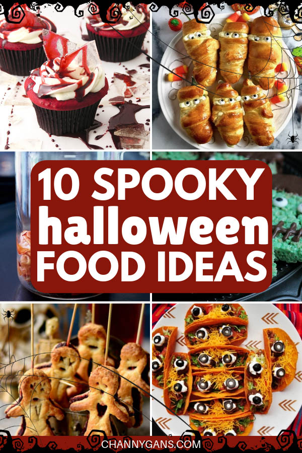Are you ready to spook your guests this Halloween? Here are 10 spooky yet fun Halloween food ideas to do just that!