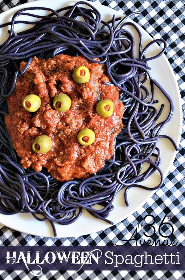 Halloween-Spaghetti
