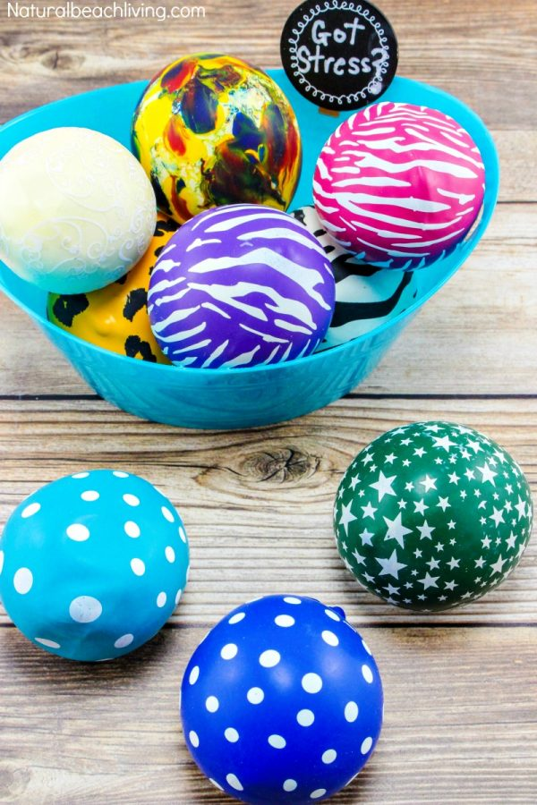 Stress-Balls -arts and crafts for kids