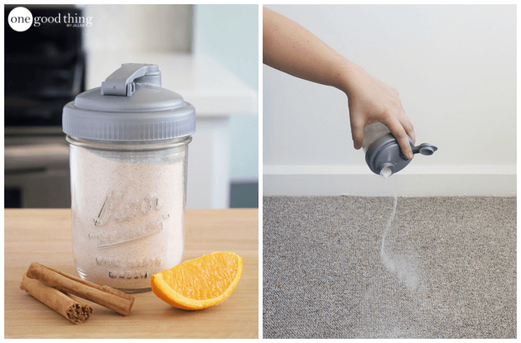 carpet powder smell hacks