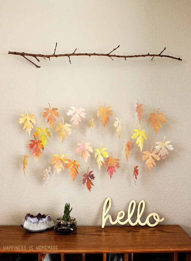 Watercolor-Paper-Fall-Leaf-and-Branch-Mobile