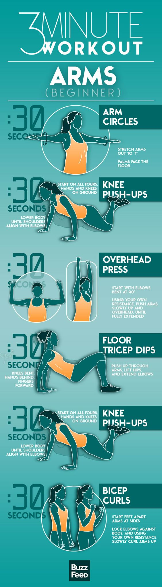 quick workouts for arms
