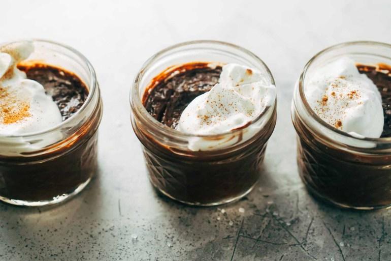 chocolate pots - keto friendly desserts