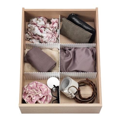 drawer divider - declutter your bedroom