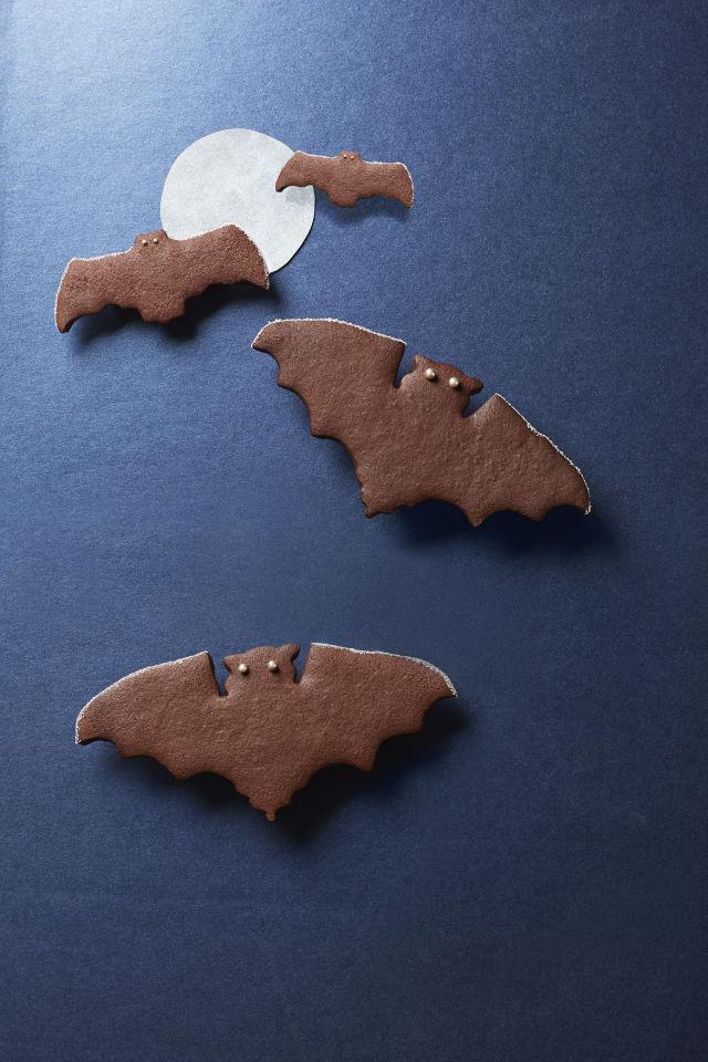 spiced bat cookies