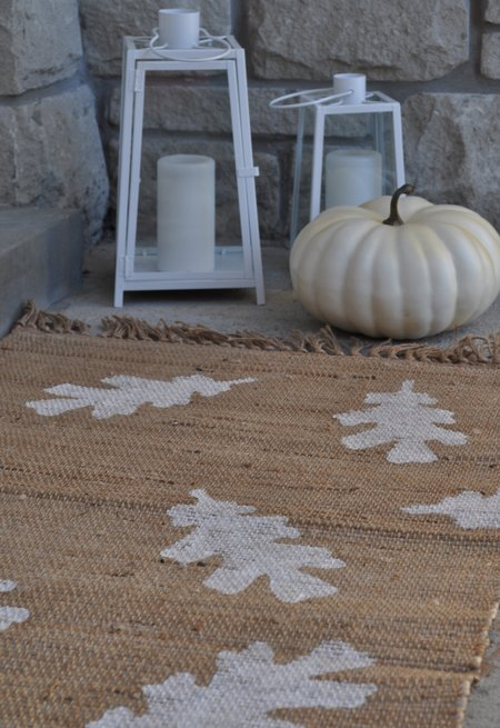 DIY doormat fall decor ideas