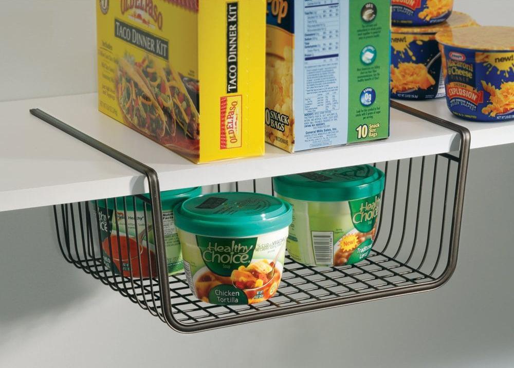 under shelf storage baskets