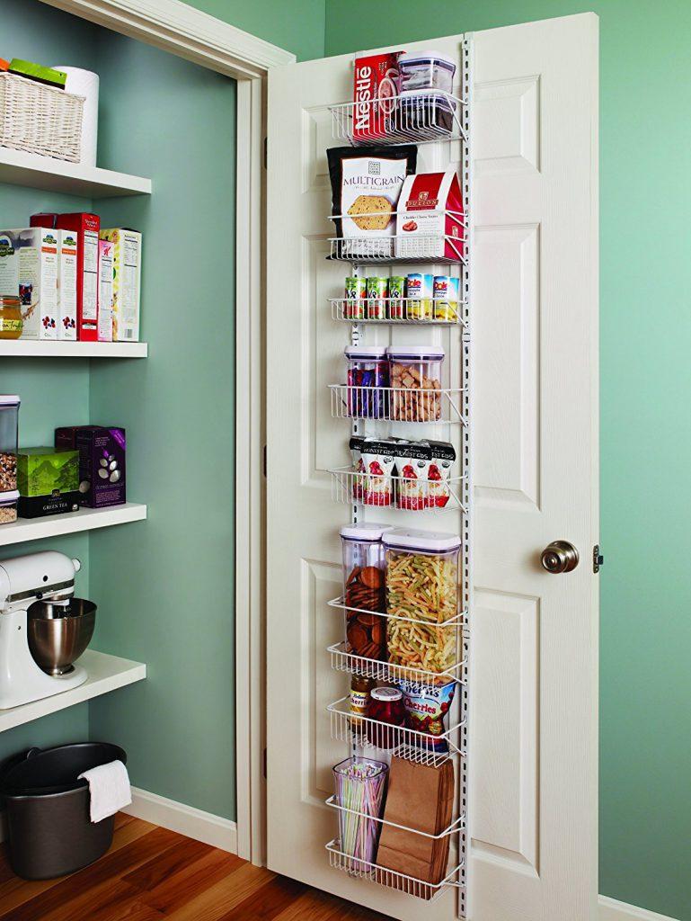 door rack pantry organization