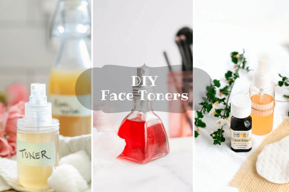 DIY facial toners
