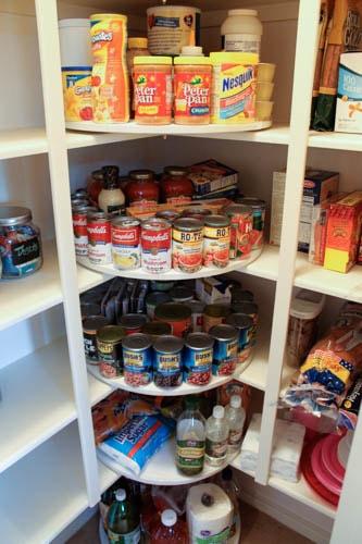 lazy susan pantry organization ideas
