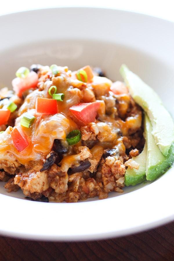 Slow-Cooker-Chicken-Burrito-Bowl