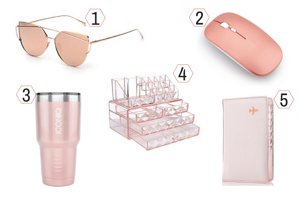 rose gold gift ideas 1