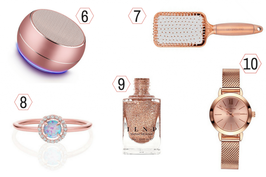 rose gold gift ideas 2