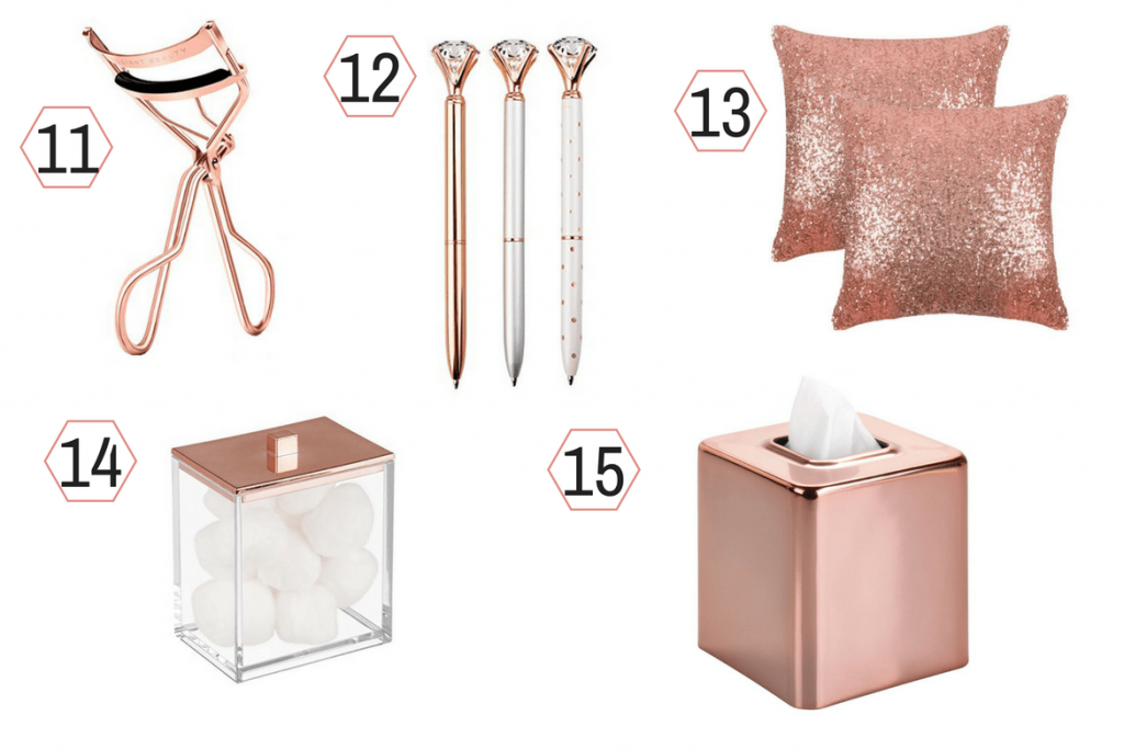 rose gold gift ideas 3
