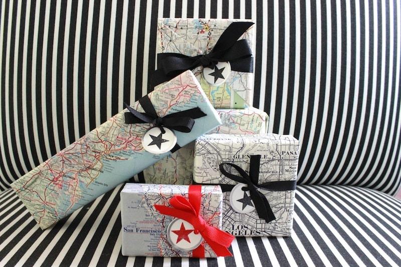 vintage-map-gift-wrap