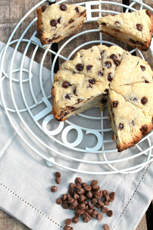 Easy Slow Cooker Desserts - Chocolate Chip Scone