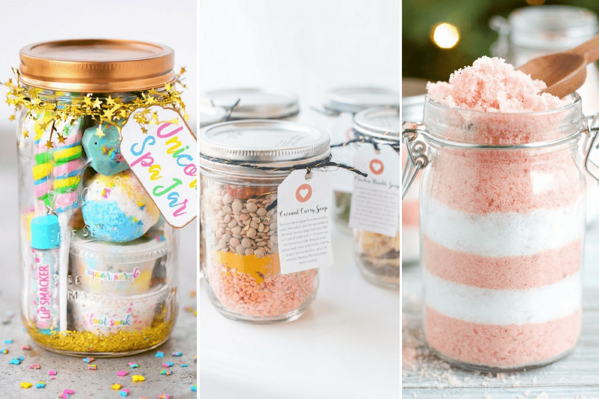 20 Mason Jar Gift Ideas Your
