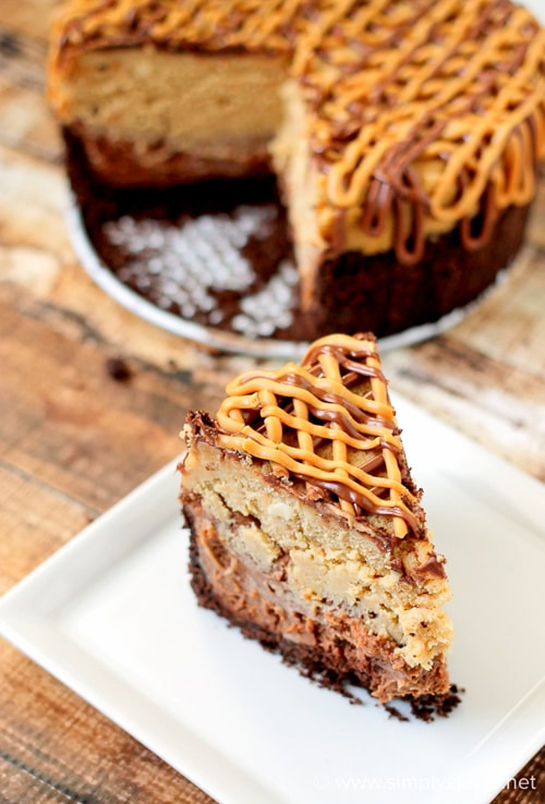 Easy Slow Cooker Desserts - Peanut Butter Cheesecake