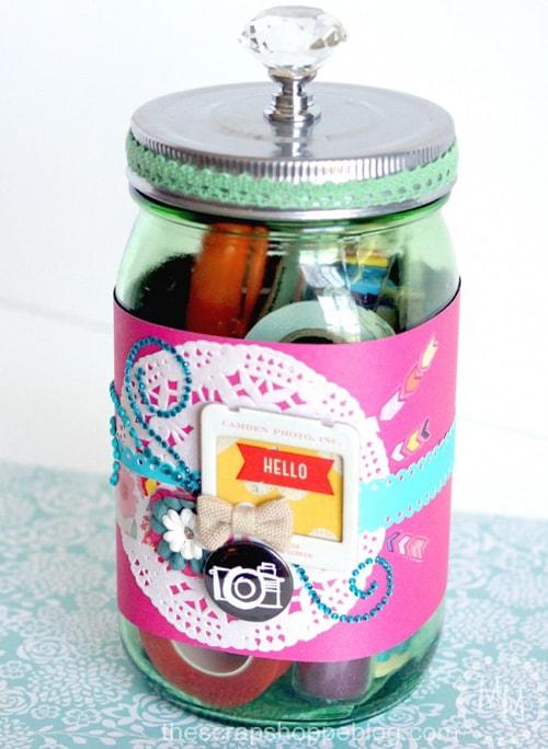 scrapbooking-gift-in-a-jar