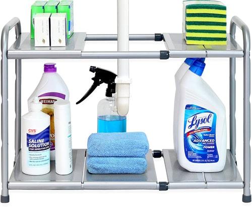 Kitchen Organization Ideas - Under the sink organizer