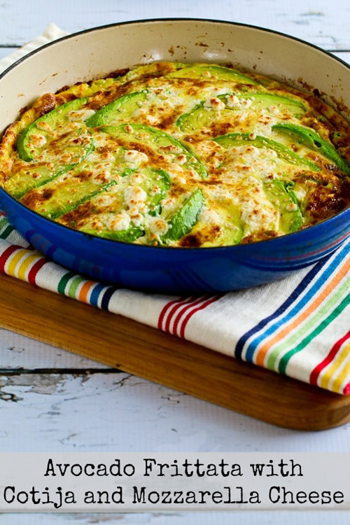 Low Carb Diet Recipes - Avocado Frittata