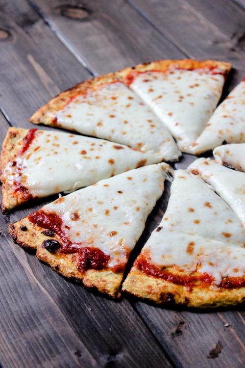 Low Carb Diet Recipes - Cauliflower Pizza Crust