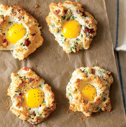 Low Carb Diet Recipes - Egg Clouds