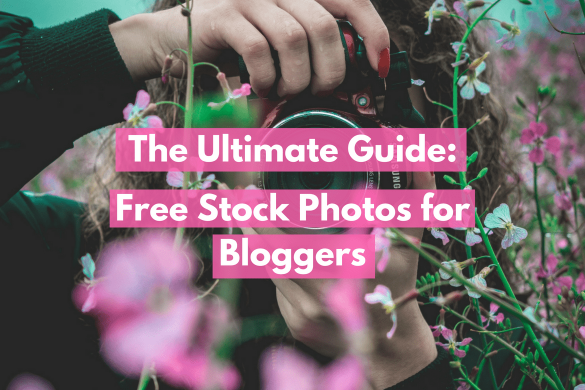 This is the ultimate guide to free stock photos for bloggers. From food to feminine styled photos, this post has it all! Be sure to save this for later.