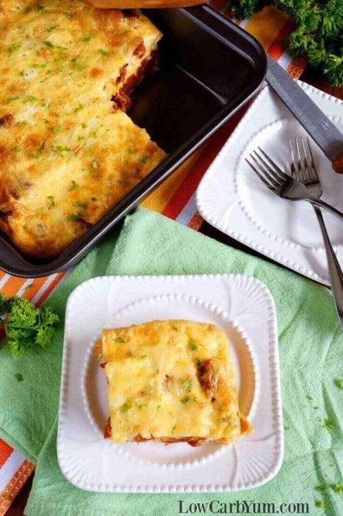 Low Carb Diet Recipes - Egg Casserole