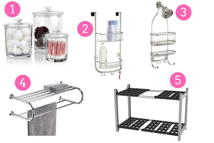 Organize Your Bathroom 1