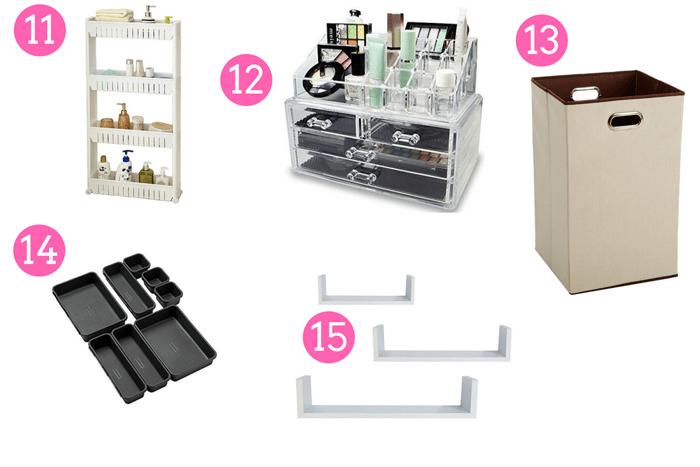 Organize Your Bathroom 3