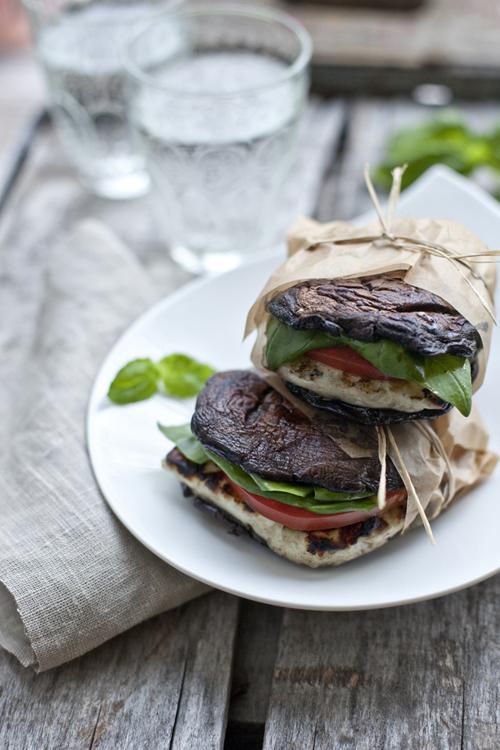 Low Carb Diet Recipes - Mushroom Burger