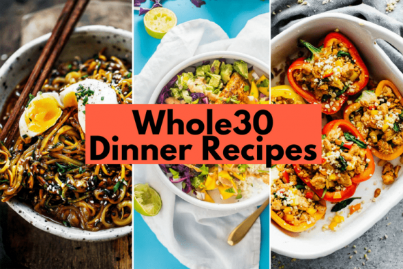 Whole30 Dinner Recipes #whole30dinnerrecipes