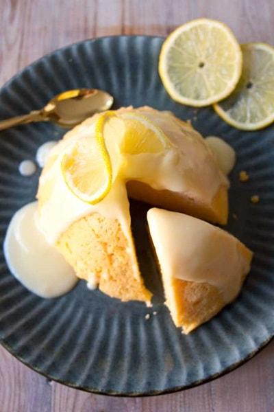 10 Keto Mug Cake Recipes - Sugar Free Lemon Mug Cake
