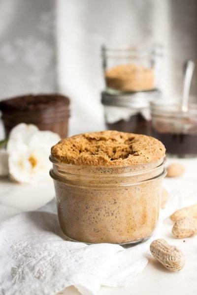 10 Keto Mug Cake Recipes - Peanut Butter Mug Cake