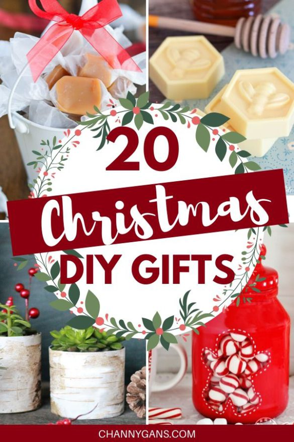 Why buy Christmas gifts this year when you can easily DIY some awesome Christmas gifts for family and friends. Homemade gifts not only save you money but will make the receiver feel pretty special too!