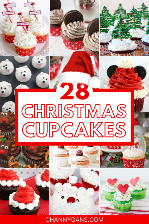 Cupcakes are one of the best desserts. They are easy to make and are a perfect size. These 28 Christmas cupcakes are so much fun to make this holiday season, as they are delicious and look absolutely amazing.