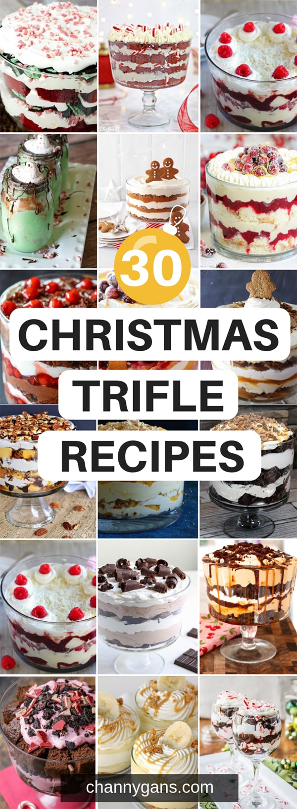 30 Christmas Trifle Recipes