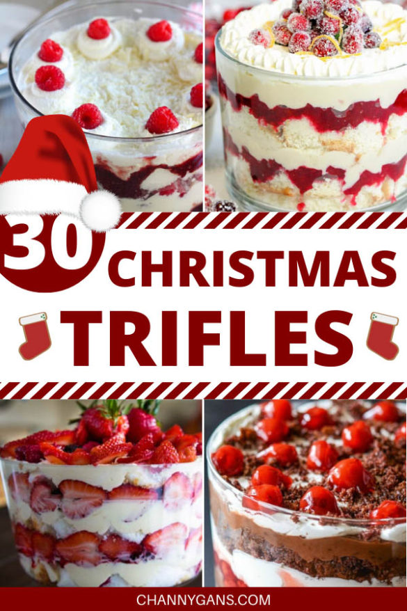 Impress family and friends this Christmas and try some of these delicious 30 Christmas trifle recipes this holiday season!