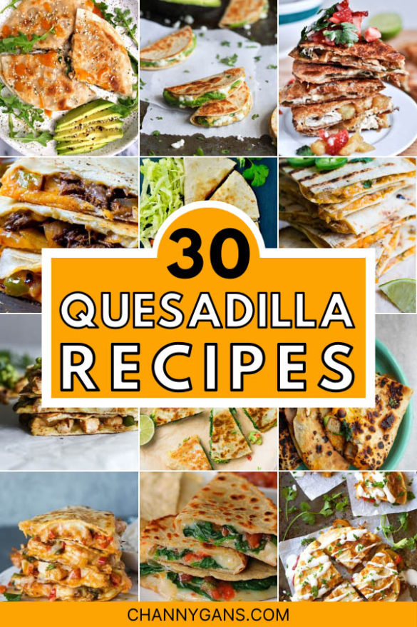 Take your quesadilla to whole new level with these exciting quesadilla recipes. These 30 quesadilla recipes are so simple and easy to make, and they taste great too!