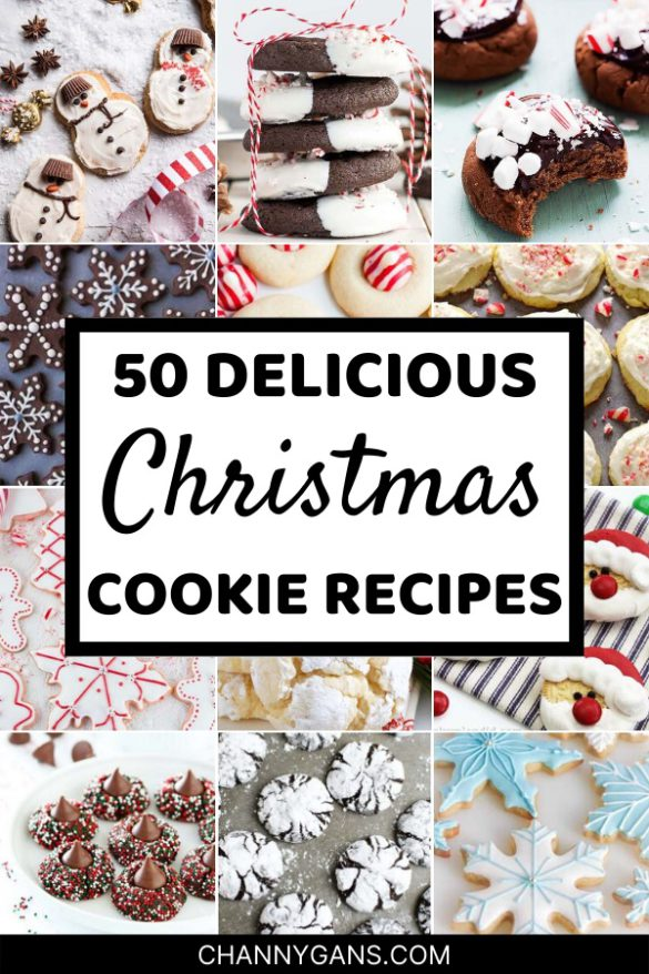 Start celebrating the holidays and make some delicious Christmas cookies for your family! These Christmas cookies are not only delicious but also very festive - perfect to put you in the holiday spirit!