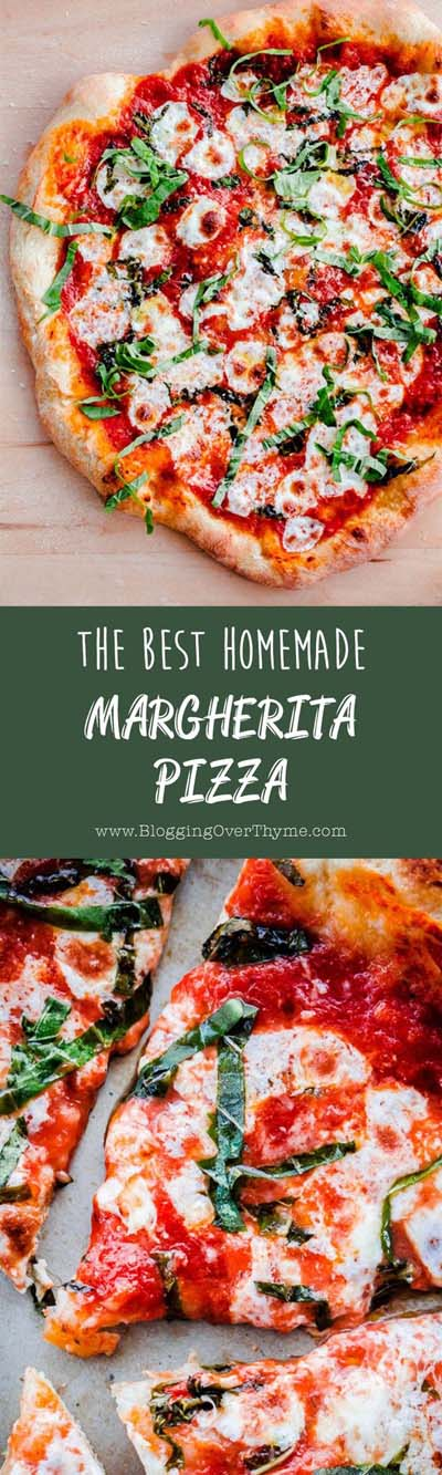 35 Homemade Pizza Recipes: Best Homemade Margherita Pizza