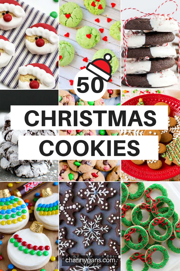 50 Delicious Christmas Cookies Recipes For The Holidays