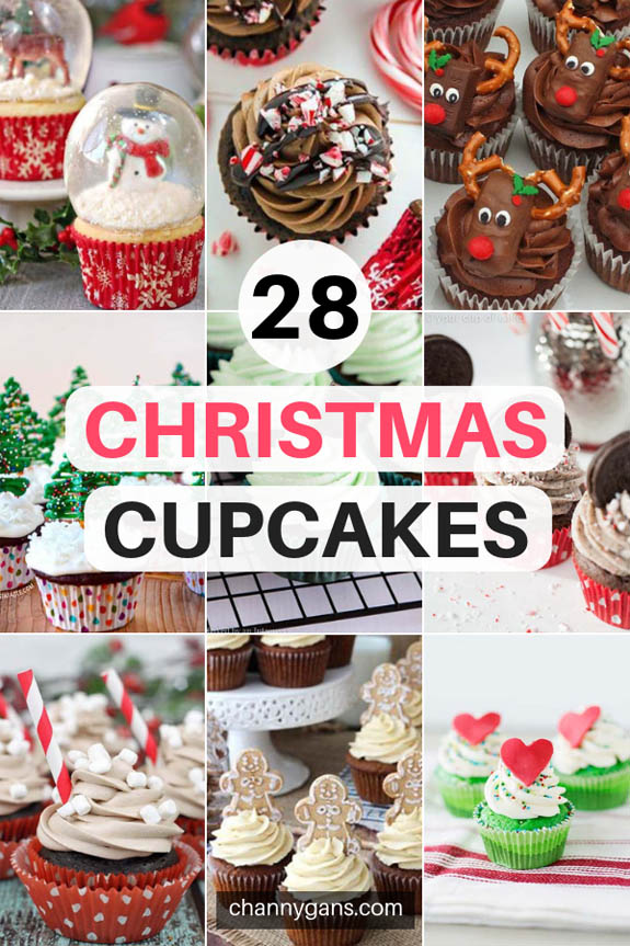 These Christmas Cupcakes not only taste great but look amazing too! Try some of these Christmas Cupcakes this holiday season to get you in the holiday spirit!