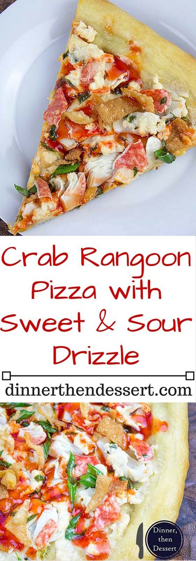 35 Homemade Pizza Recipes: Crab Rangoon Pizza