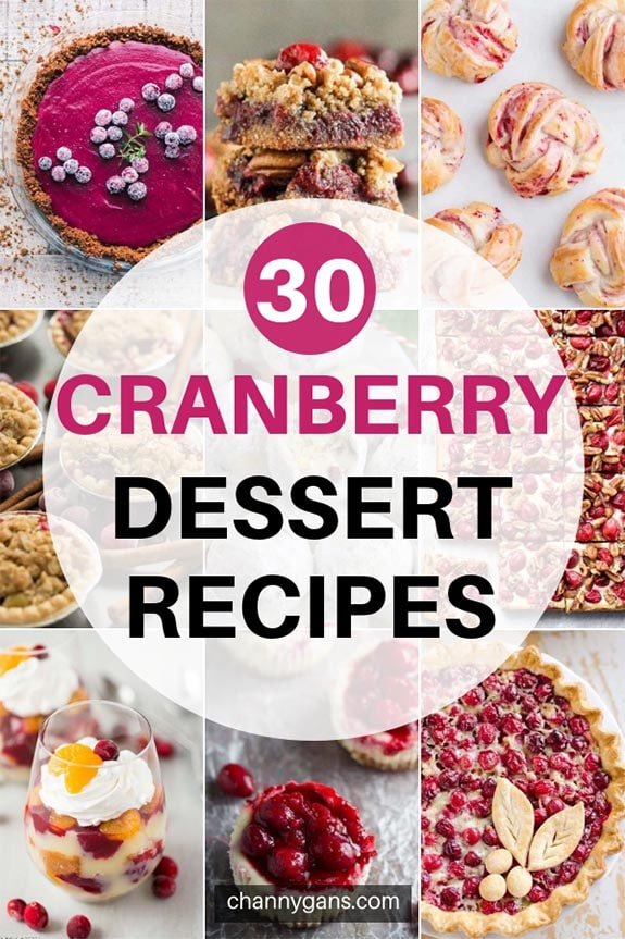 Make the most of the holiday season by trying some of these cranberry dessert recipes! They are perfect for an after dinner treat.