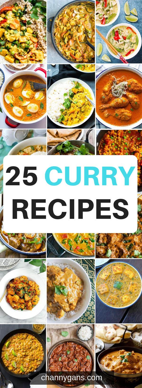 25 Curry Recipes